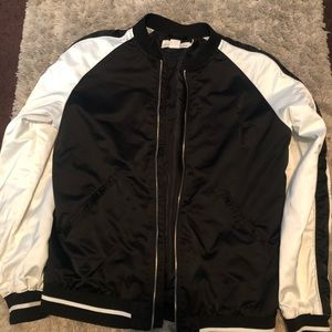 H&M two tone jacket